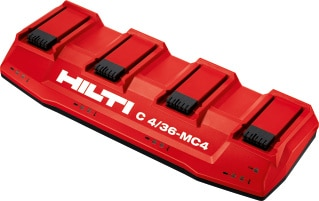 Multi-bay charger C4/36-MC