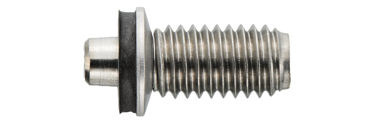 blunt tip fasteners for steel
