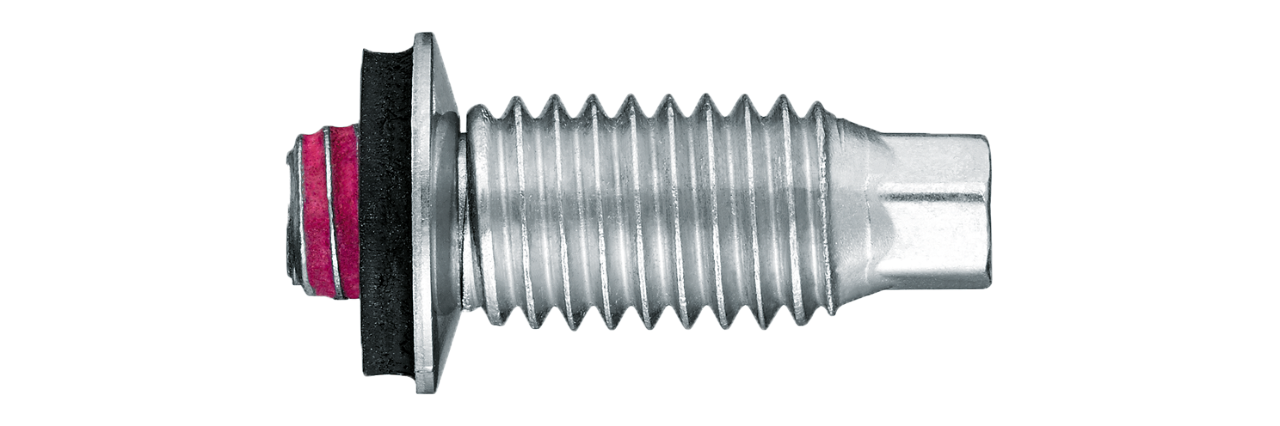 blunt tip screw fasteners for steel