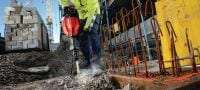 TE 1000-AVR demolition hammer Versatile TE-S demolition hammer for concrete floor breaking and occasional wall chiseling Applications 1