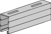 HS Pre-galvanized strut channels for light- to medium-duty applications 2-7/16 - 12 ga