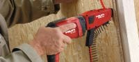 SD 2500 Wood/drywall screwdriver Applications 3